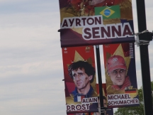 Senna, Prost and Schumacher